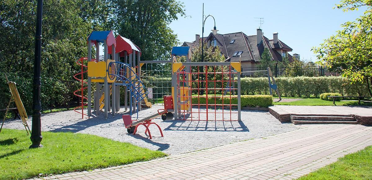 Детская площадка на набережной, КП Риверсайд