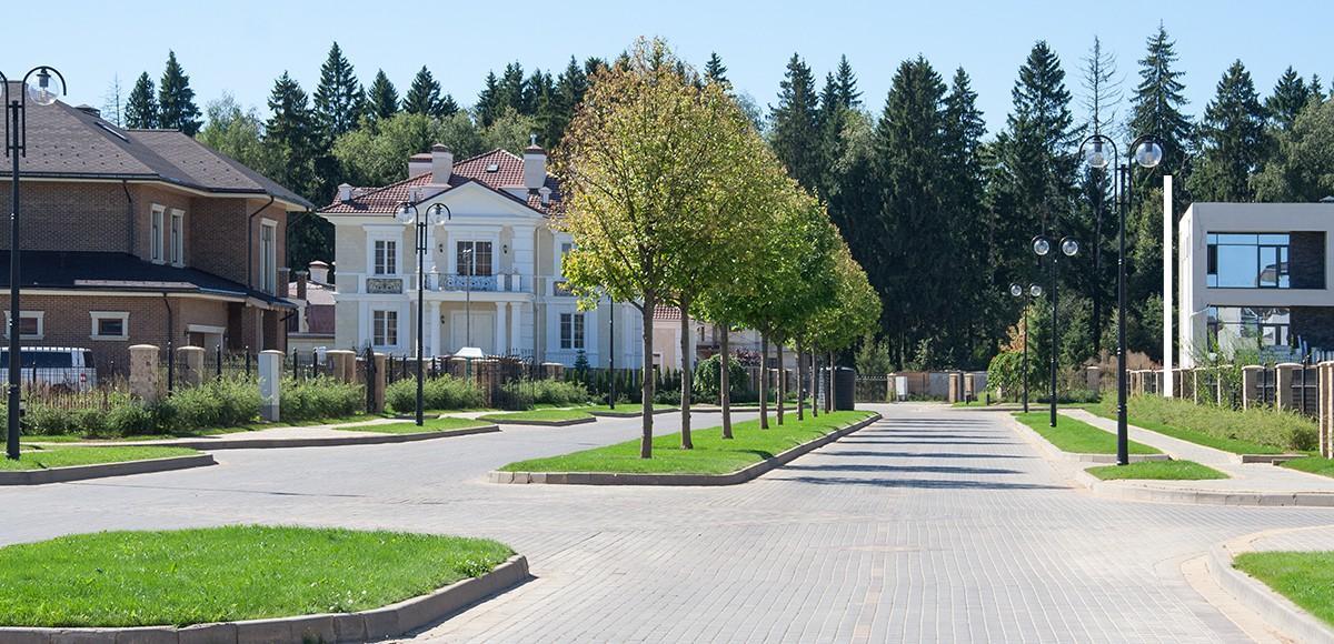 Смешанный архитектурный стиль, поселок Мэдисон Парк