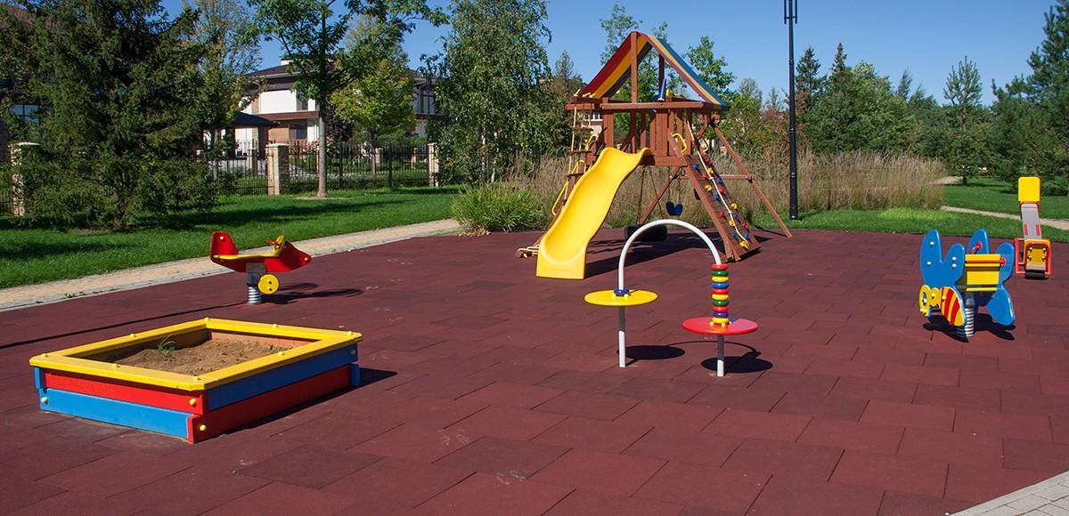 Детская площадка №1, КП Мэдисон Парк