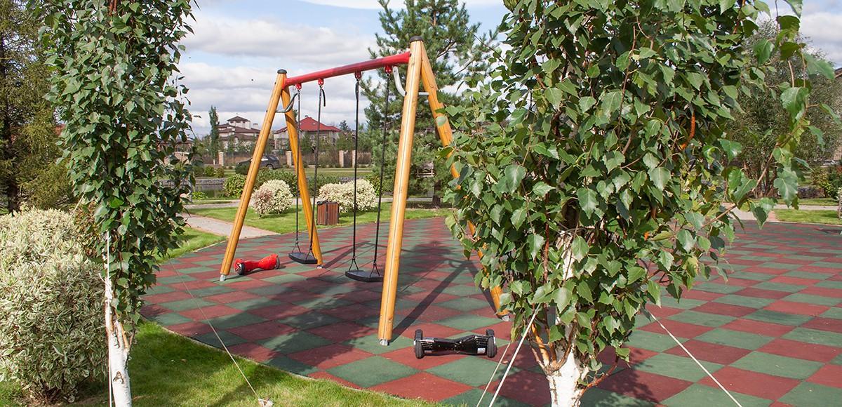 Детская площадка №1 в КП Monteville