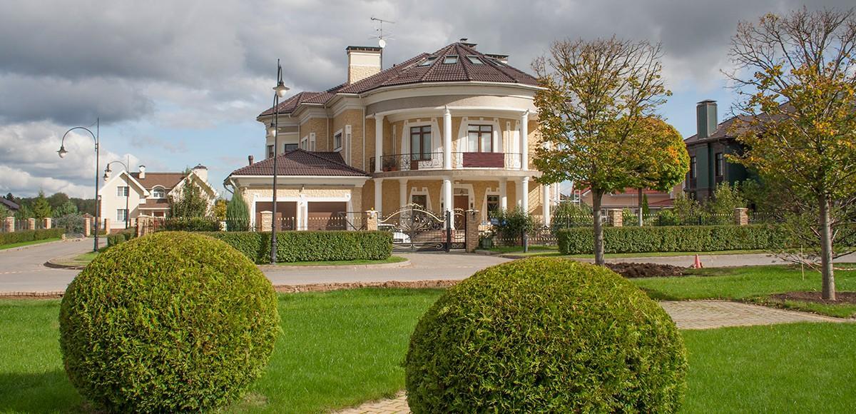 Дом из коллекции Неоклассика, КП Гринфилд