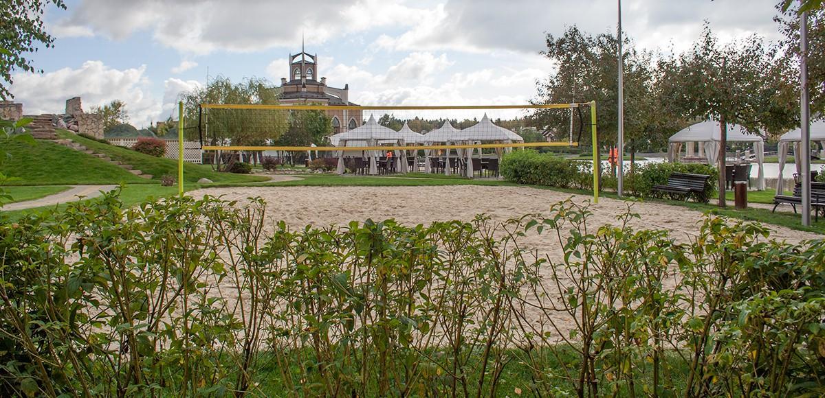 Площадка для игры в пляжный баскетбол, КП Гринфилд