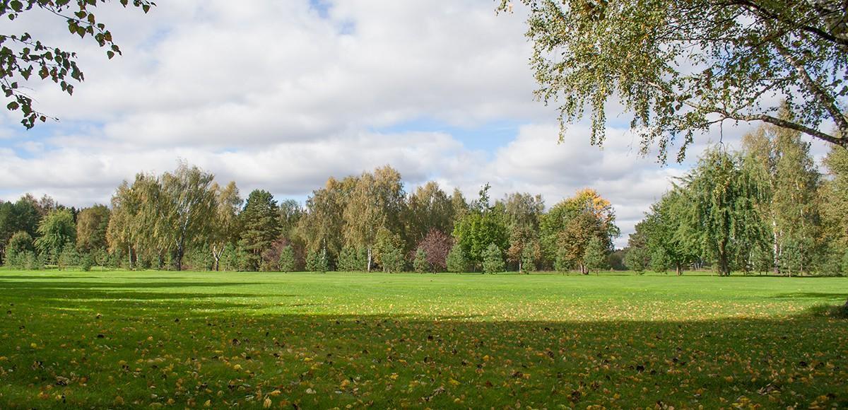 Профессиональное гольф-поле курорта Пирогово