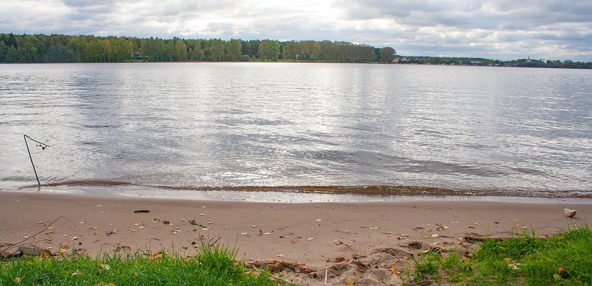 Песчаный пляж на Клязьминском водохранилище, Чиверево