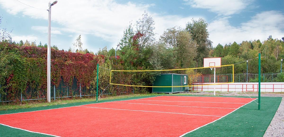 Спортивная площадка поселка Чивирево