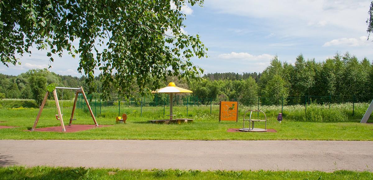 Площадка для малышей, КП Crystal Istra