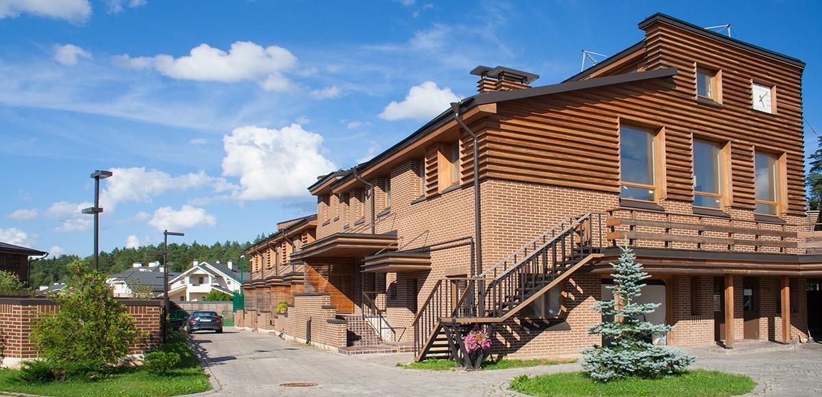 Административное здание в КП По-рижская мечта