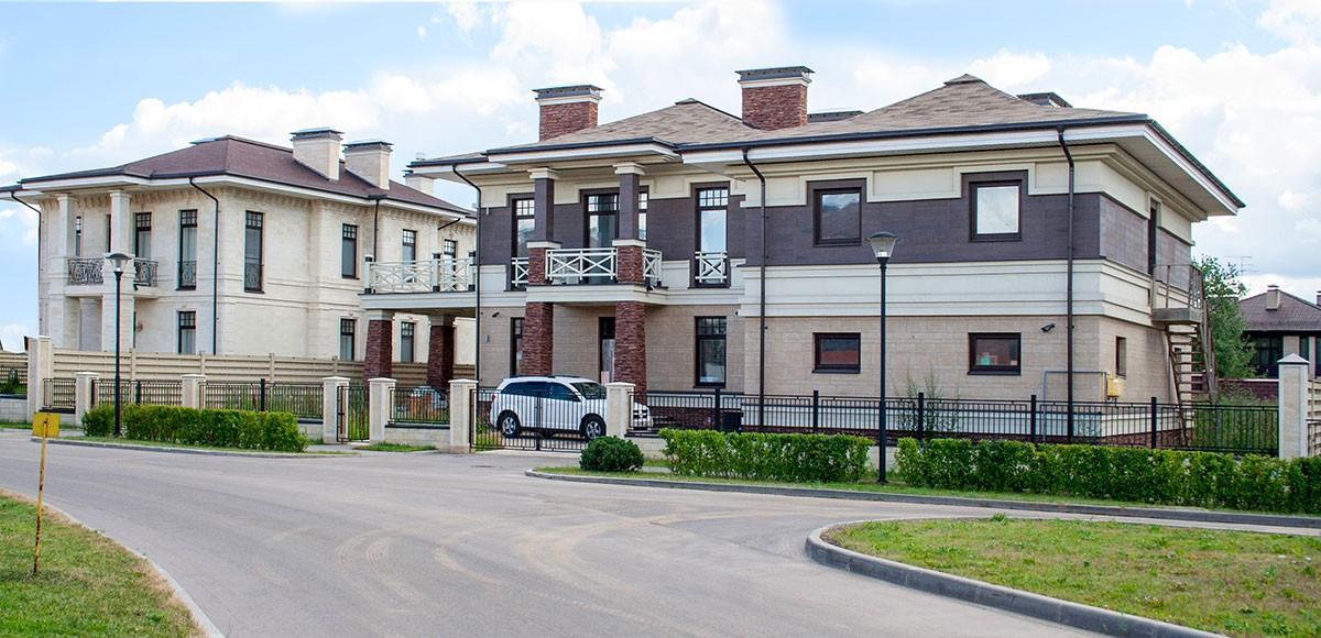Жилой коттедж в поселке Прозорово на Новорижском шоссе