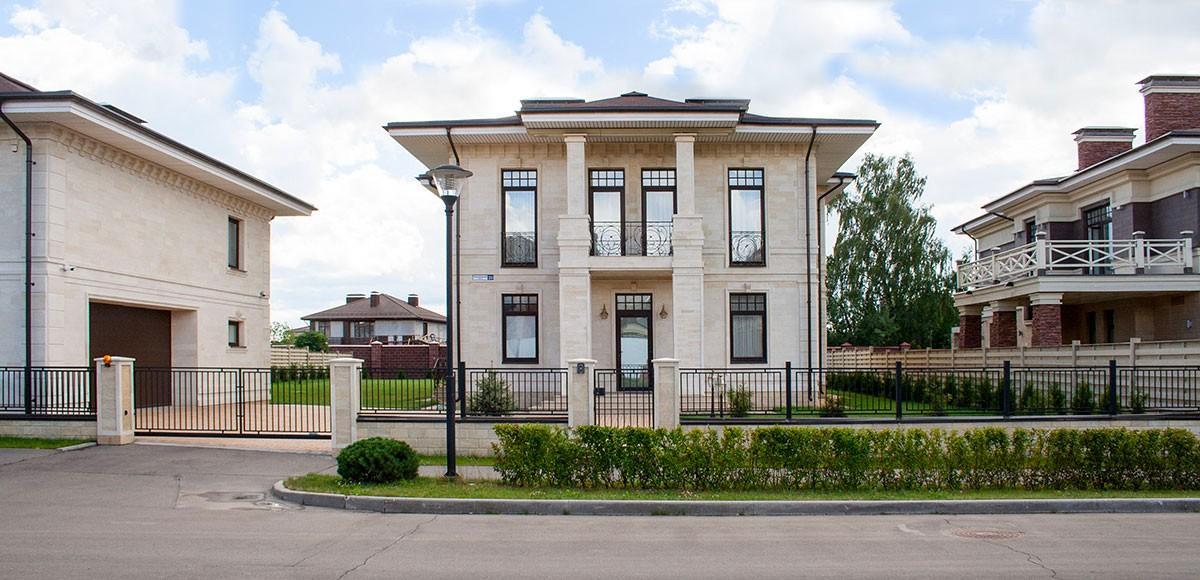 Роскошный дом в поселке Прозорово