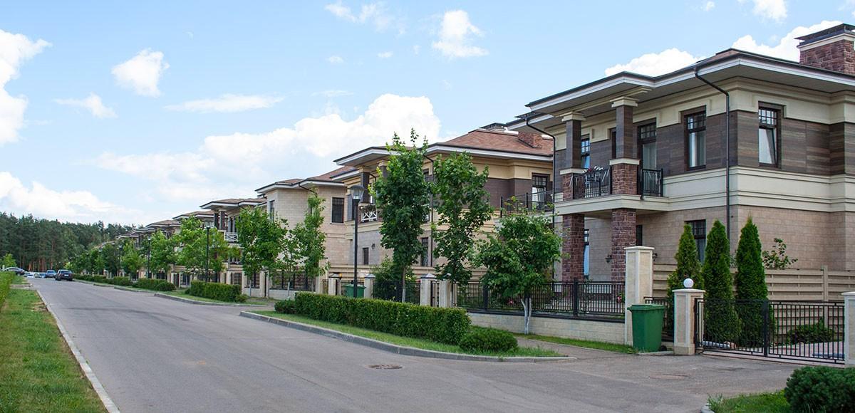 Квартал с загородными резиденциями в поселке Прозорово