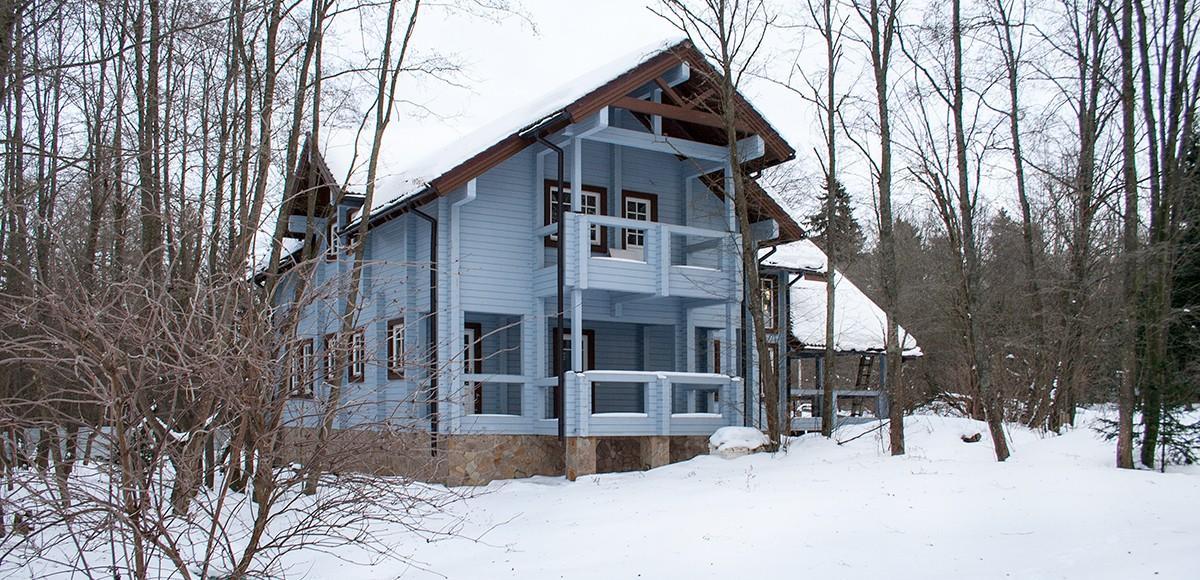 Хозяйский дом из бруса №2 в Усадьбе Миронцево