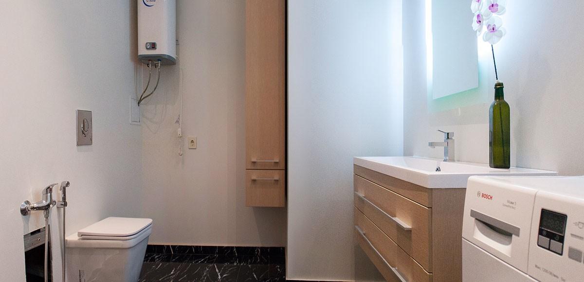 Ванная №1, вид1,  квартира 2, Усово