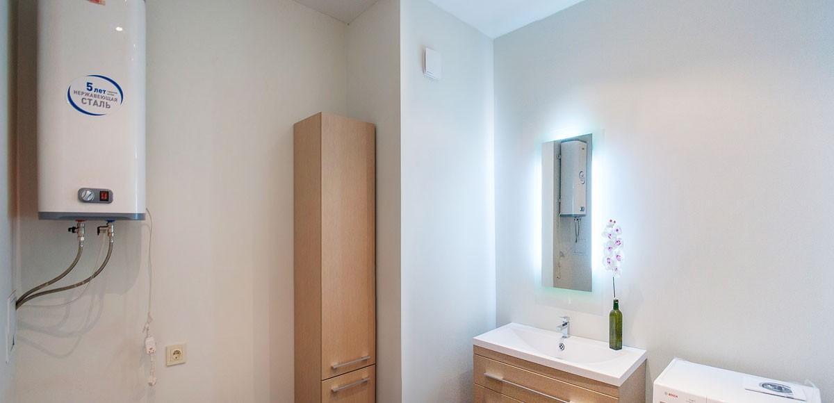 Ванная №1, вид 2,  квартира 2, Усово