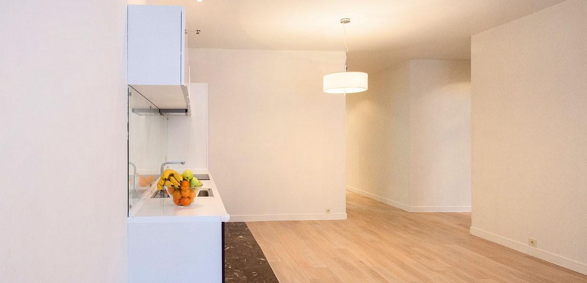 Кухня-гостиная, вид 2, квартира 4, Усово
