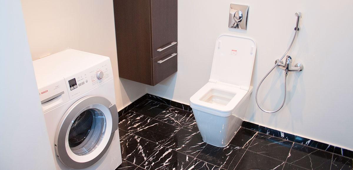 Ванная комната №2, вид 1, квартира 7, Усово