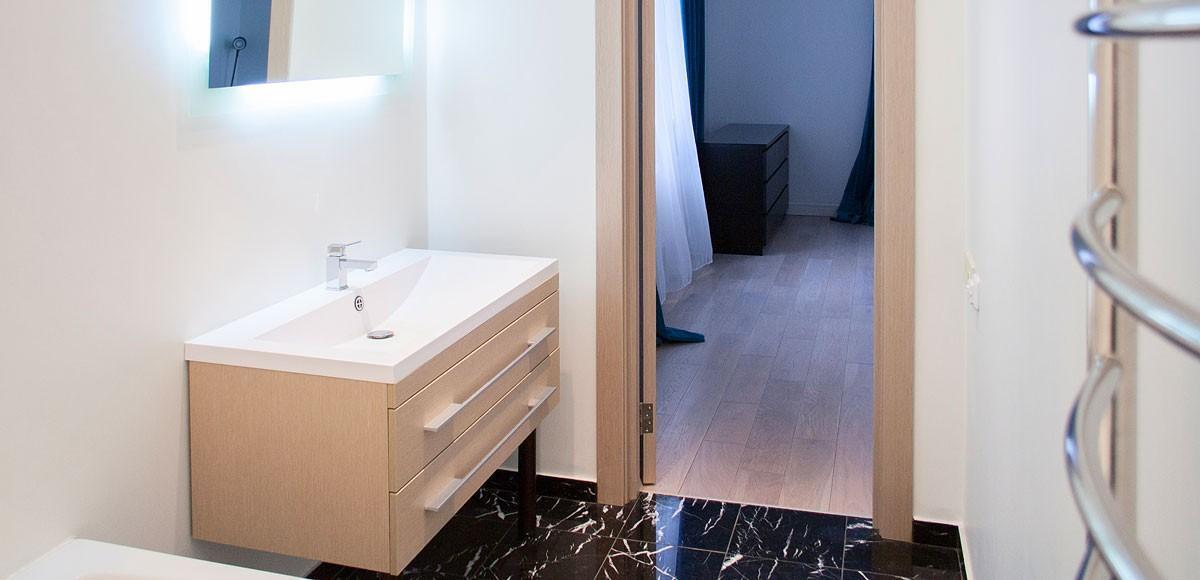 Ванная №2, вид 1, квартиры 9, Усово