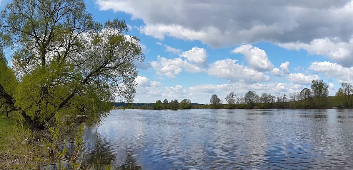 Москва-река рядом с Усово, вид 1