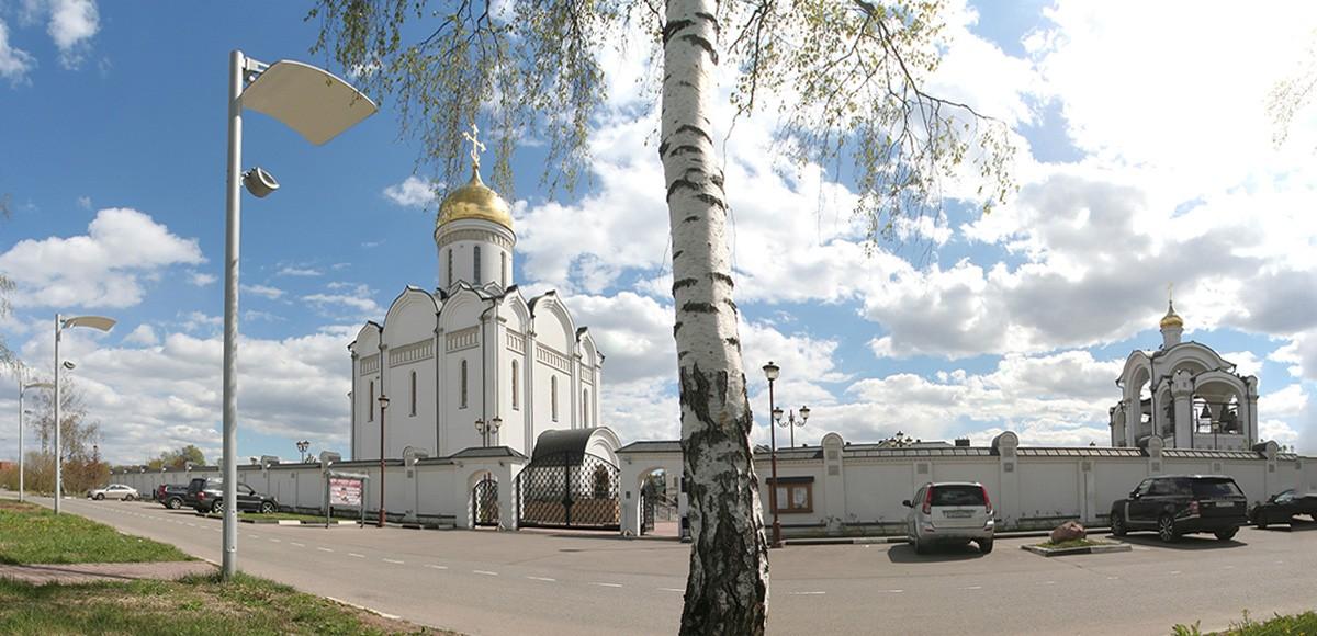 Храмовый комплекс Спаса Нерукотворного Образа, рядом с ЖК Усово