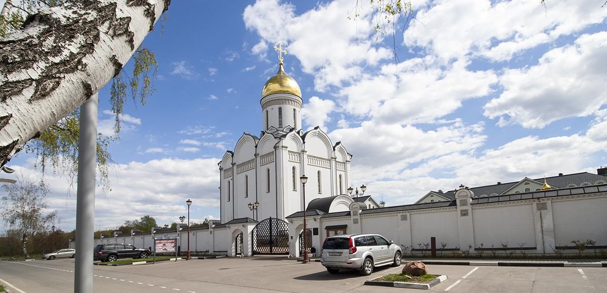 Храм Спаса Нерукотворного Образа, рядом с ЖК Усово, Рублевка
