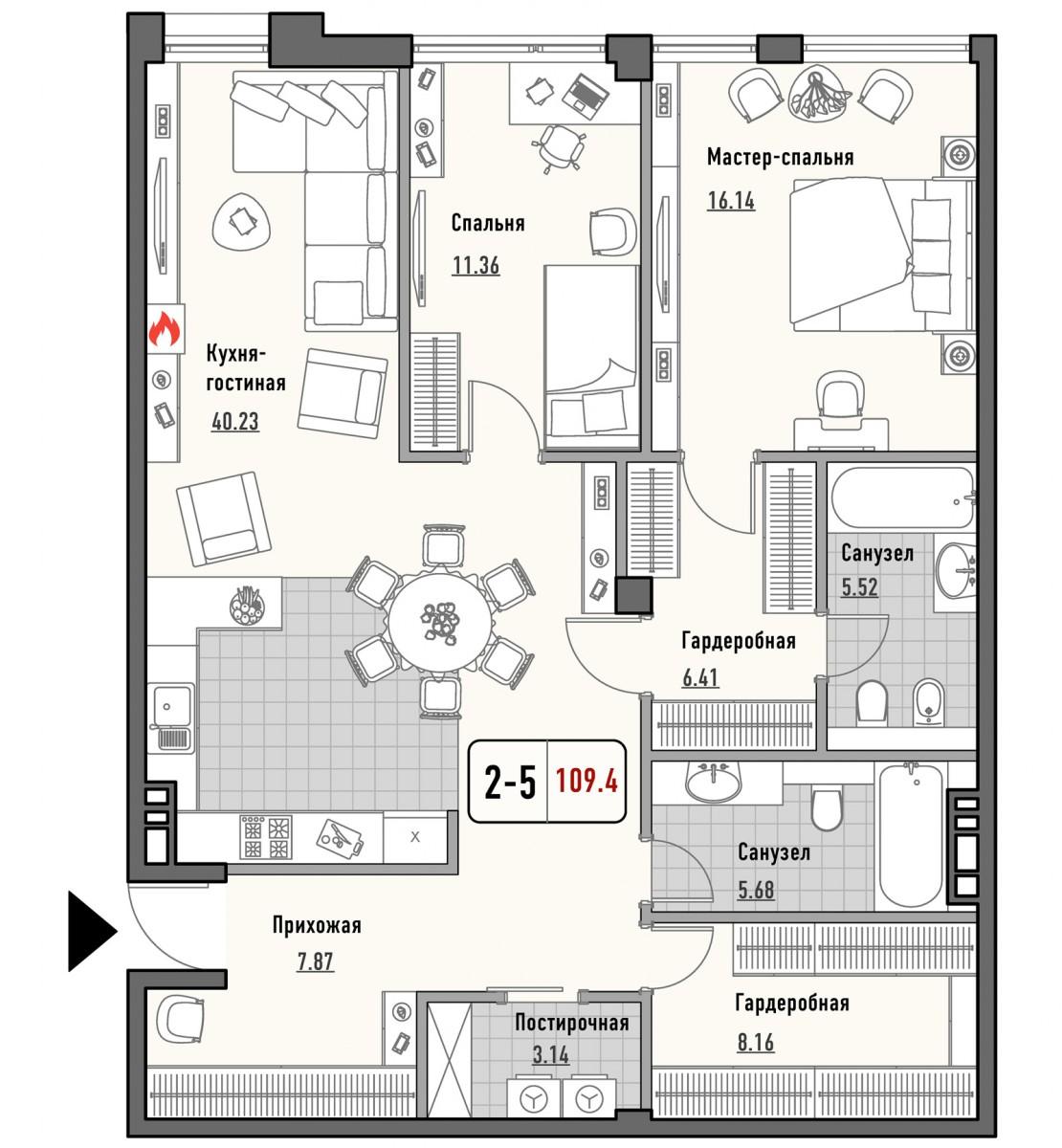 25 квартира