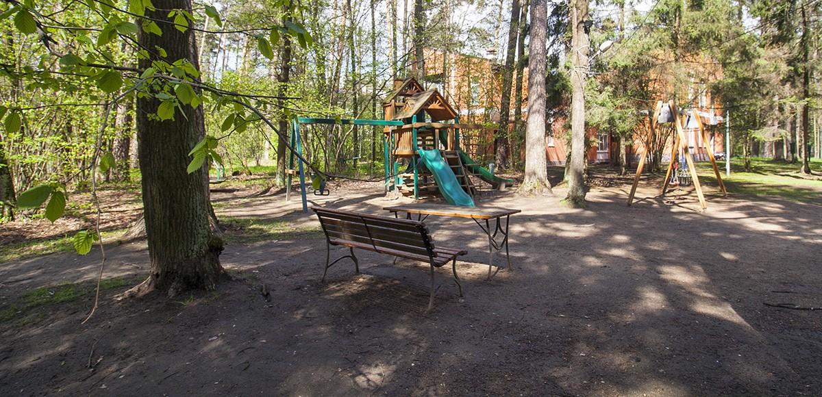 Детская площадка на территории ЖК Усово, Рублевка